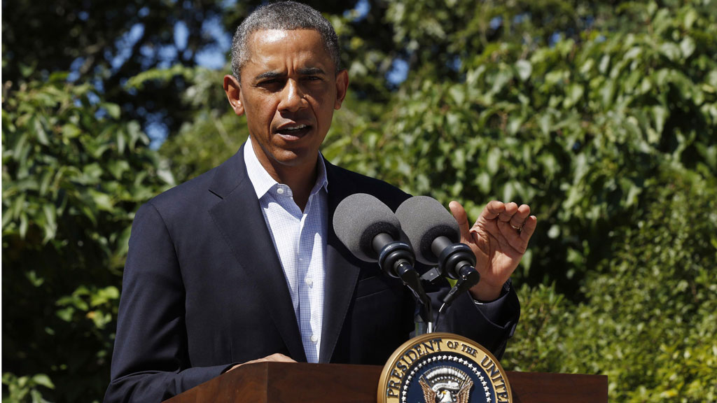 Obama at podium (reuters)