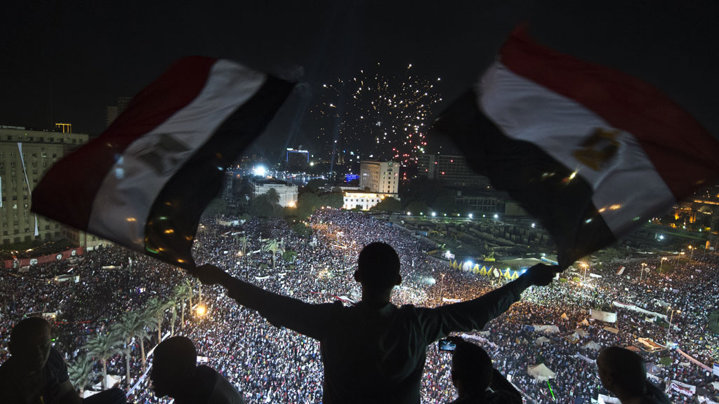 Protesters at Tahrir Square in July 2013 (G)