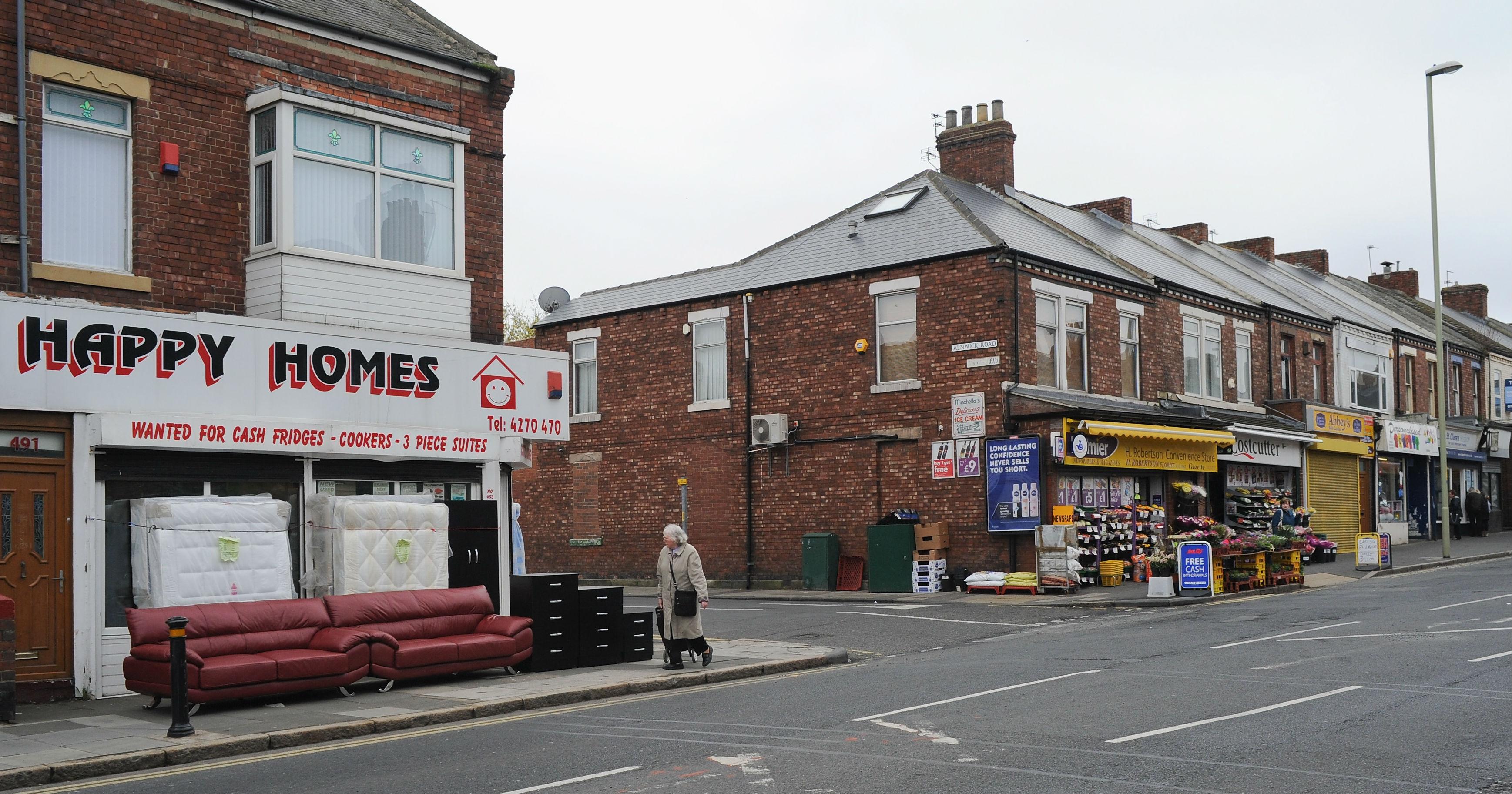 High street shops (getty)