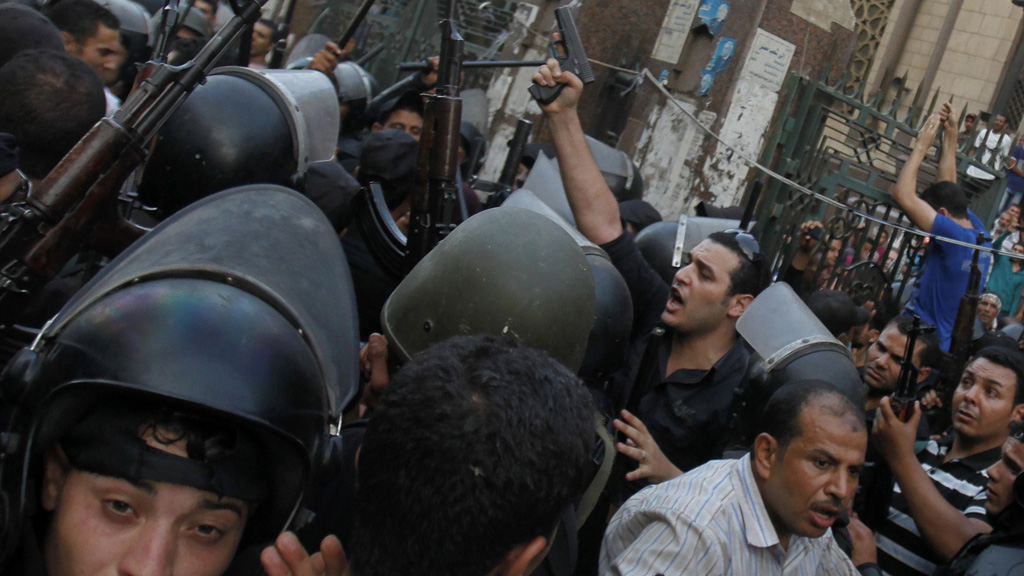Egypt crisis: EU ambassadors meet as bloodshed continues (picture: Reuters)