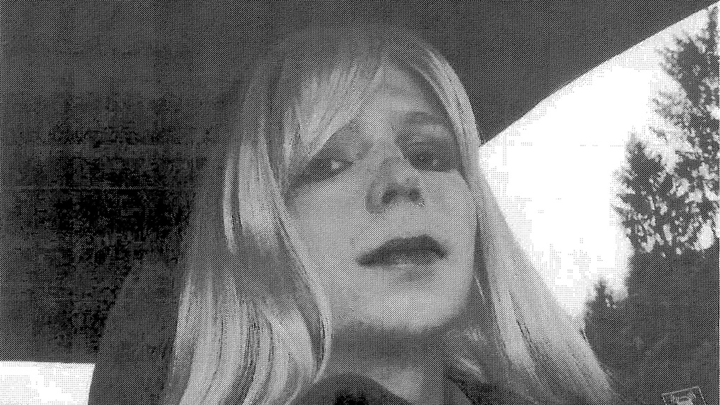 Bradley Manning said he had dressed in a blonde wig and worn lipstick (Reuters)
