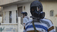 Syria chemical weapons: video footage shows claims of attacks going back more than a year (picture: Reuters)
