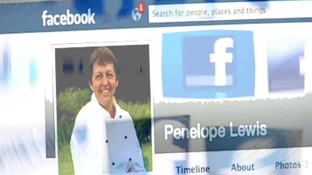 Penny Walker: Facebook profile page