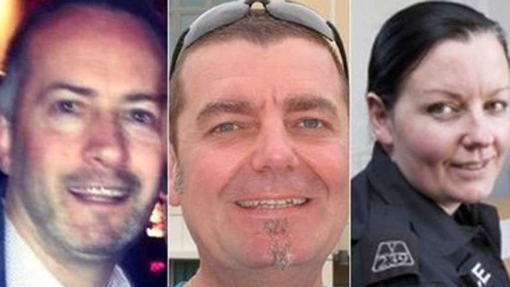 Gary Arthur died in The Clutha and pilot David Traill and police officer Kirsty Nelis were killed in the helicopter