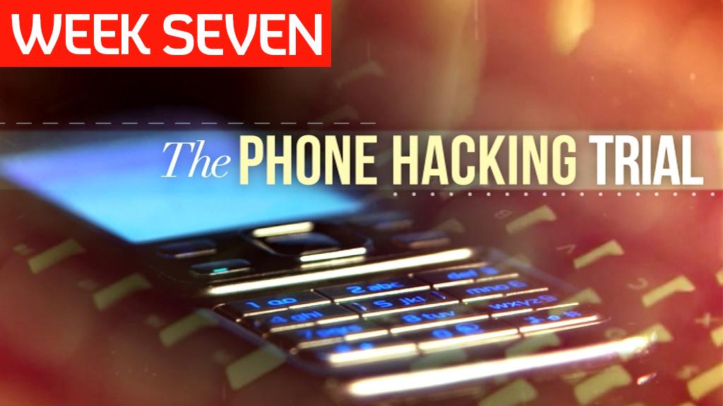 Phone hacking trial week seven.