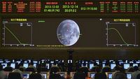 China lands a spacecraft on the moon