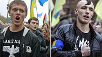 Svoboda has links with the BNP (Reuters)