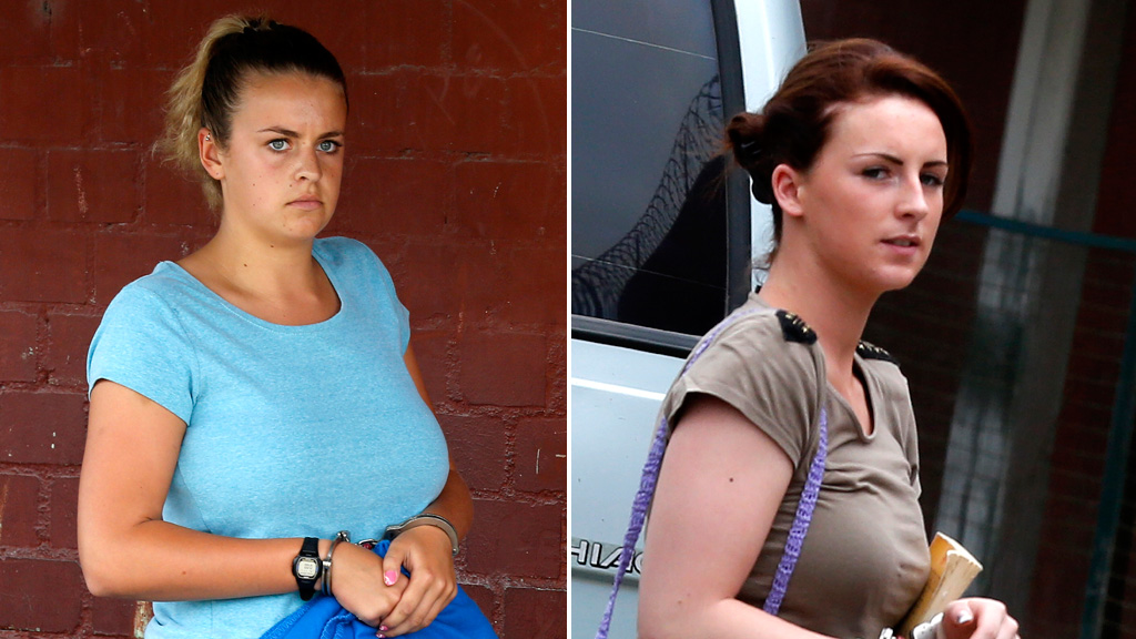Peru British drug mules Michaella Connolly Melissa Reid