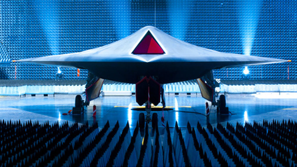 March of the machines - this is the Taranis prototype (BAE Systems)