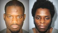 (l-r) Michael Adebolajo and Michael Adebowale who are to be sentenced for the murder of Lee Rigby in Woolwich last year
