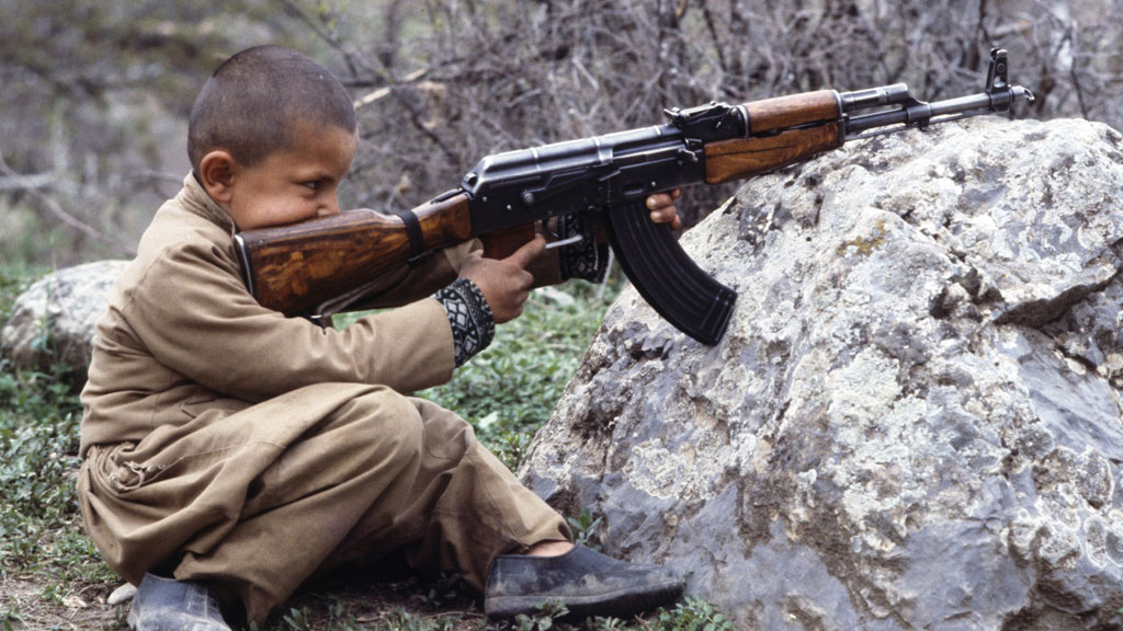 The legacy of the AK-47 rifle, invented in Russia by Mikhail Kalashnikov, is felt to this day