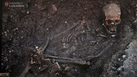 Researchers from the University of Leicester confirm that a skeleton found under a city centre car park is that of King Richard III following extensive testing (Getty