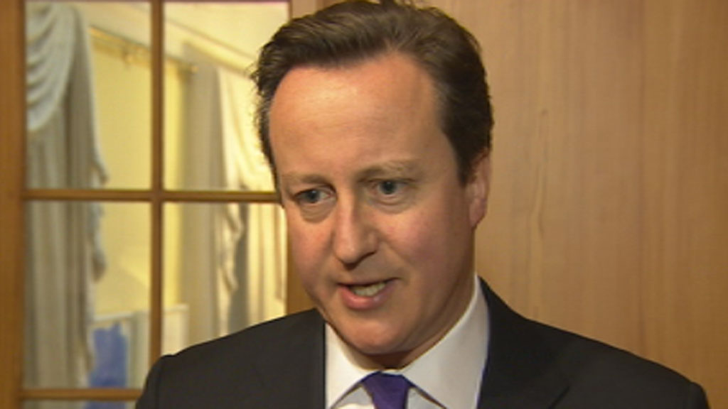 David Cameron has vowed there will be no
