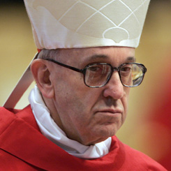 Cardinal Jorge Mario Bergoglio (picture: Getty)