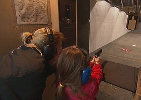 Why women and kids are packing heat in Virginia (screengrab)