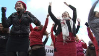 One Billion Rising global action to reclaim Valentine's day