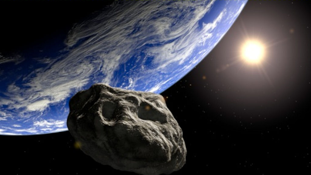 An asteroid is to narrowly miss earth