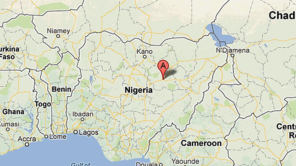 Briton 'kidnapped' in Nigeria (Image: Google Maps)