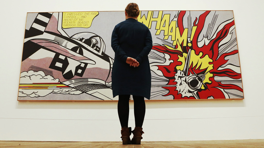 Whaam roy lichtenstein the art and the artist channel - Roy lichtenstein obras ...