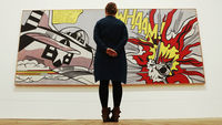 Roy Lichtenstein's Whaam! is one of the many works featured in the Tate Modern's retrospective (picture: Reuters)