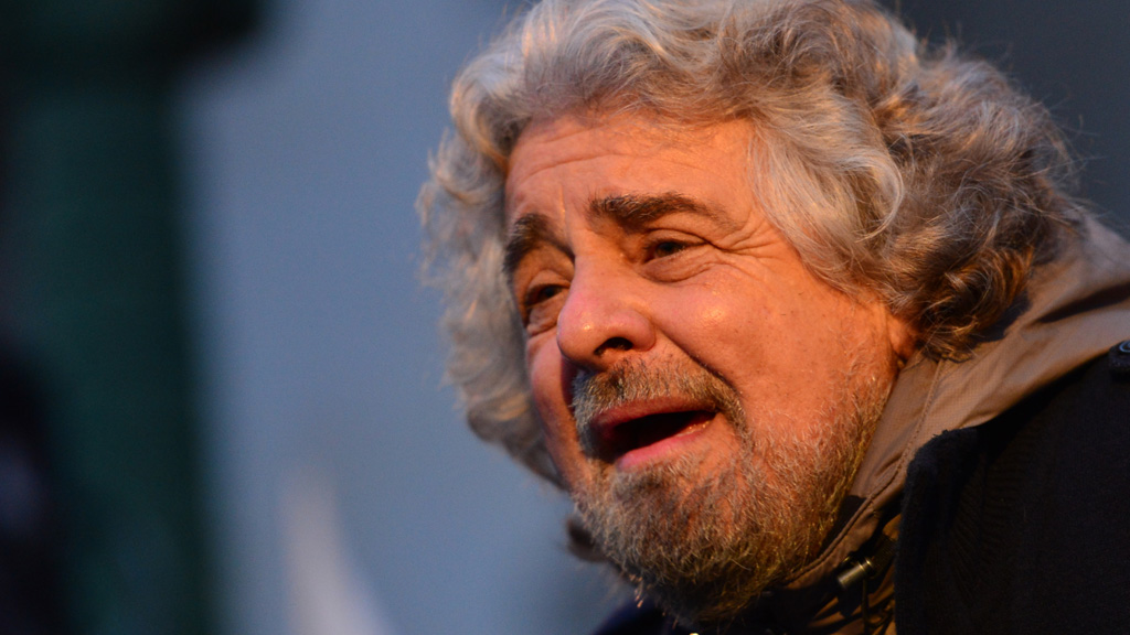 Beppe Grillo of the Five Star Movement (picture: Getty)