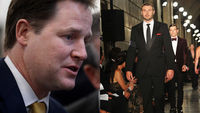 Nick Clegg and rugby player Ben Cohen have endangered surnames (getty)