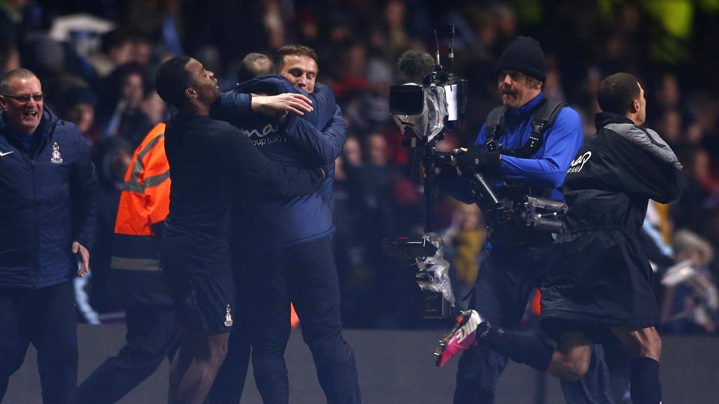 Bradford celbrate semi-final win