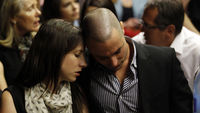 Carl Pistorius and sister Aimee (Reuters)