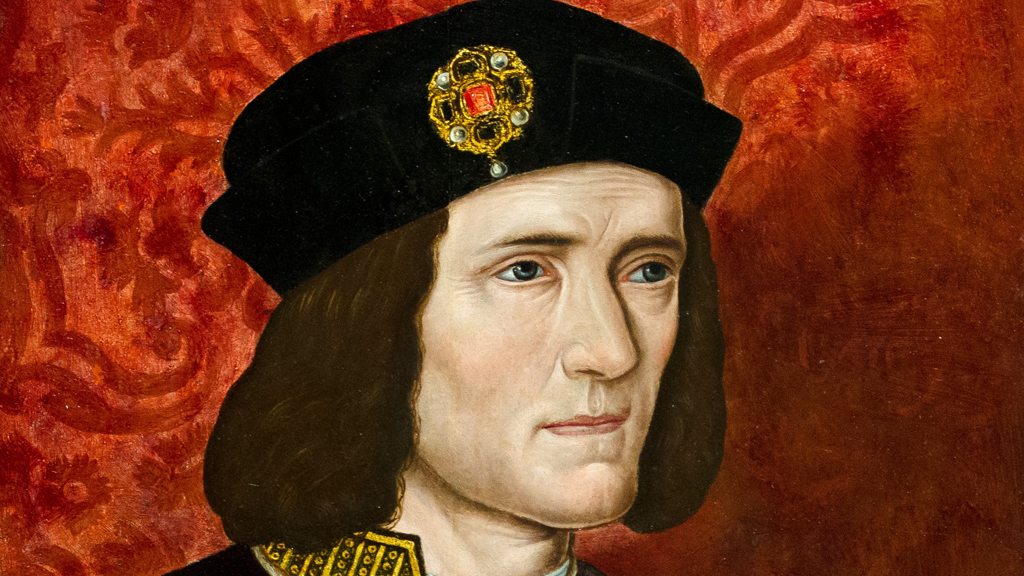 A painting of Britain's King Richard III by an unknown artist is displayed in the National Portrait Gallery in central London (Getty)