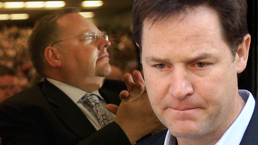 Lord Rennard and Nick Clegg (picture: Getty)