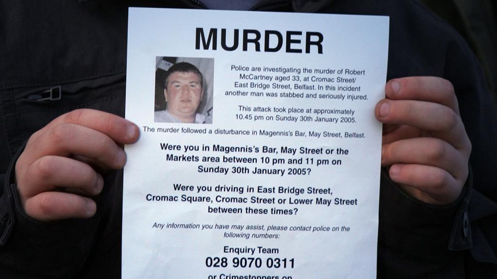Robert McCartney murder: man arrested (Reuters)
