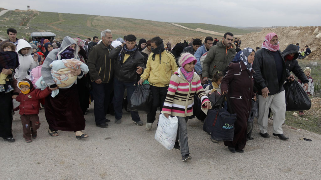 More than a million people are likely to have fled Syria within the next few weeks, exceeding the UN's