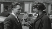 New year resolutions in the 1950s (ITN)