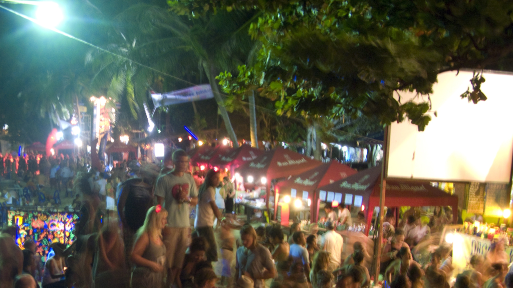 Full Moon Party, Haad Rin, Koh Pha-ngan, Thailand (LIBRARY PICTURE 2008) - Getty