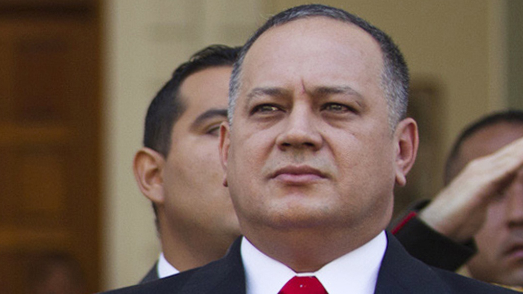 Diosdado Cabello, leader of Venezuela's National Assembly (picture: Reuters)