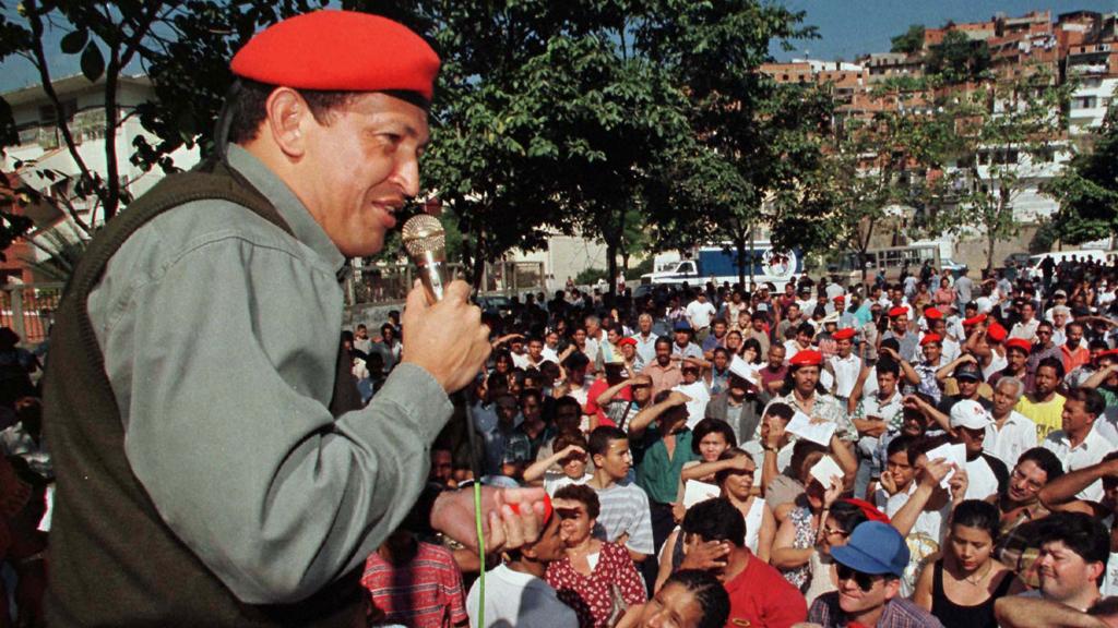 Hugo Chavez (pic: Reuters)