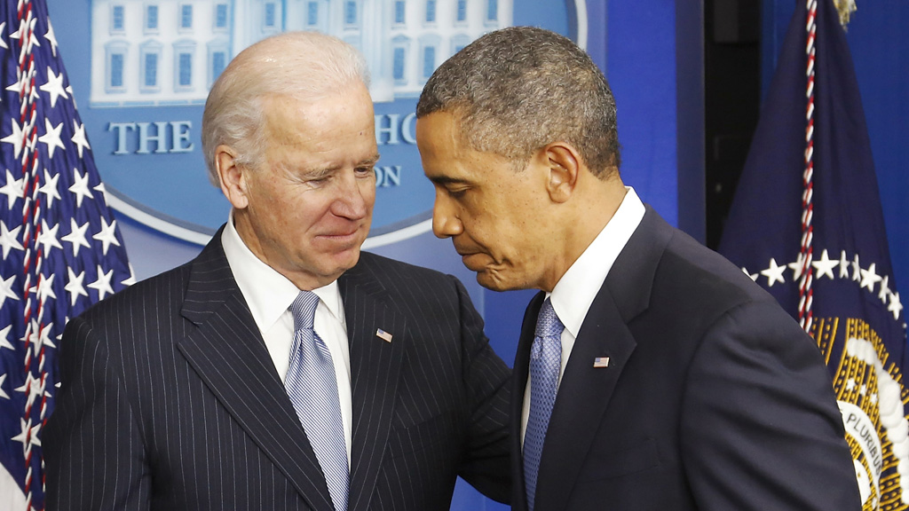 Vice president Joe Biden was the chief broker of the deal to avert the fiscal cliff crisis (Reuters)