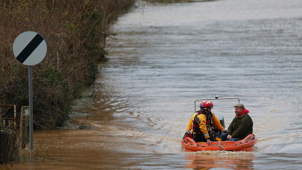 Wet weather (Reuters)