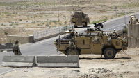 British troops in Afghanistan priotect a military base (picutre: Reuters)