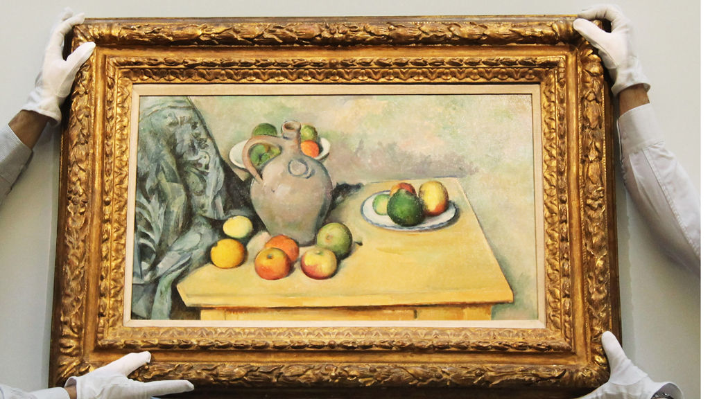 Genius can come with age as well, as Cezanne proved (Getty)
