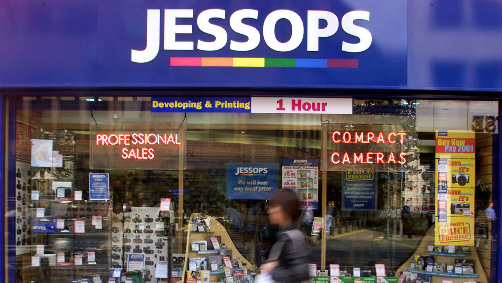 Jessops faces administration