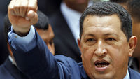 In this report from March 2006, Channel 4 News Foreign Affairs Correspondent Jonathan Rugman looks at the growing tensions between Venezuela, led by the populist Hugo Chavez, and the US.