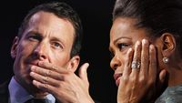 Lance Armstrong is set to appear on Oprah Winfrey's show (pictures: Reuters)