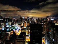 Nightfall in Caracas (all rights reserved Dai Baker).