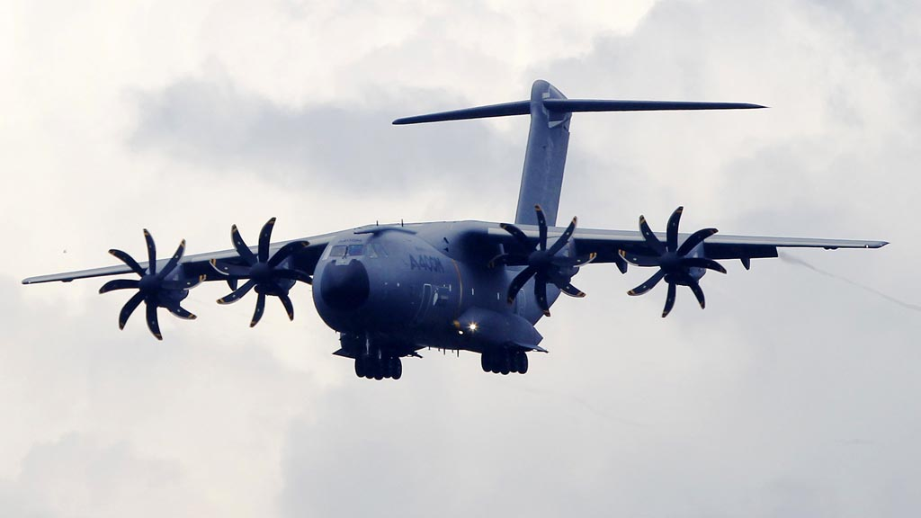 The A400M aircraft which will replace the Hercules C-130J (Picutre: Reuters)