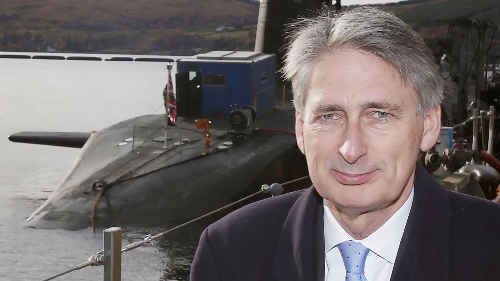 Defence secretary Philip Hammond (Reuters)