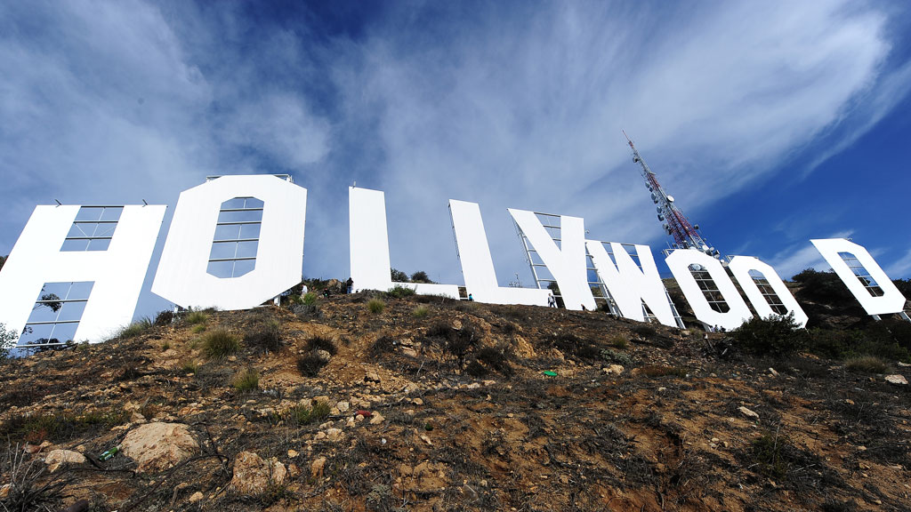 Hollywood sign (getty)