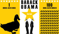 Obama versus ducks and horses graphic
