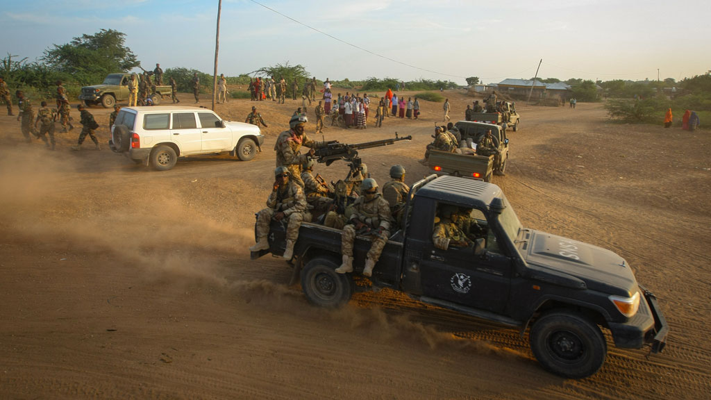 Islamists were targeted during the Somalia raid (pic: Getty)