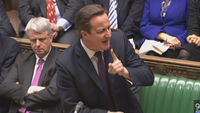 Prime Minister David Cameron defends his stance on Europe, as a group of Conservative backbenchers calls on him to renegotiate Britain's membership of the EU.
